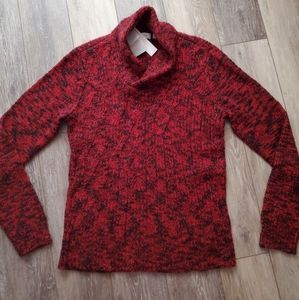 NWT-Calvin Klein large red & black sweater